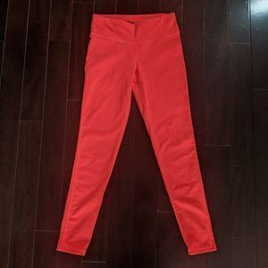 Aritzia TNA Neon Orange Leggings